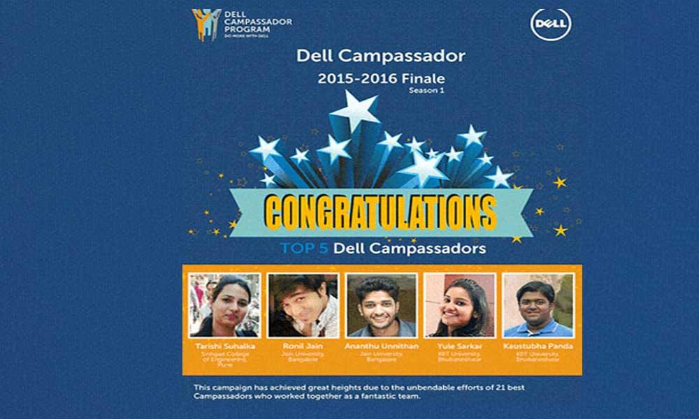 Dell-Campssador-KIIT_CSE-Student